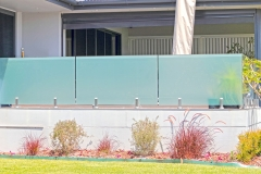 Exterior Glass Railings for Deck