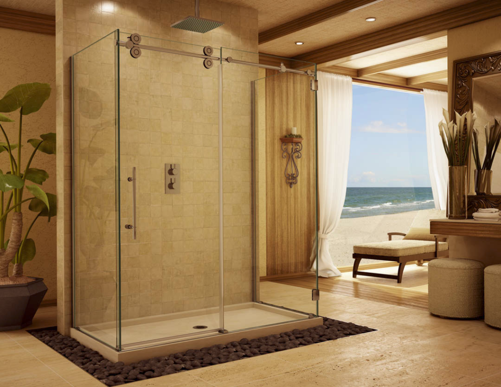 Serenity Suspended Shower Enclosure
